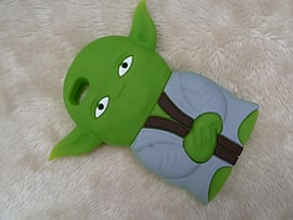 DIA YODA STAR WARS SILICONE CASE COVER FOR IPHONE 5 (G4 GREEN) Mobile phones
