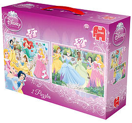 Disney Princess Duo Puzzles Traditional Games