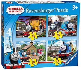 Thomas and Friends 4 in Box Puzzles Traditional Games