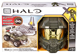 Mega Bloks Halo Micro-Fleet Warthog Attack Blocks and Bricks