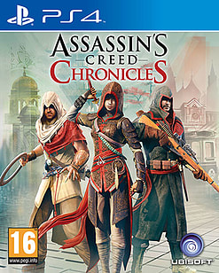 Assassin's Creed Chronicles Trilogy PlayStation 4 Cover Art