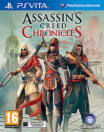 Assassin's Creed Chronicles Trilogy PS Vita Cover Art
