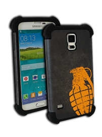 Grenade Samsung S5 Mobile Phone Case (Orange) Mobile phones