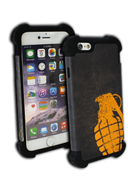 Grenade Iphone 5/5C Mobile Phone Case (Orange) Mobile phones