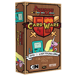 Adventure Time Card Wars BMO vs Lady Rainicorn Card Game Traditional Games