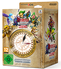 Hyrule Warriors: Legends Limited Edition 3DS Cover Art