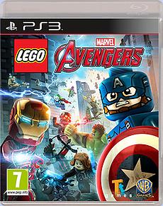 LEGO Marvel Avengers Playstation 3 Cover Art