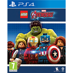 LEGO Marvel Avengers Playstation 4 Cover Art
