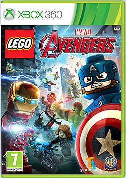 LEGO Marvel Avengers Xbox 360 Cover Art