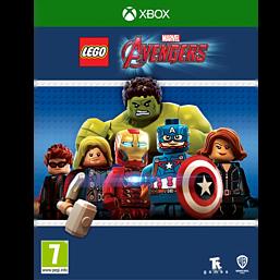 LEGO Marvel Avengers Xbox One Cover Art