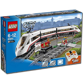 LEGO City High-speed Passenger Train 60051 Blocks and Bricks