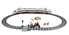 LEGO City High-speed Passenger Train 60051 screen shot 1