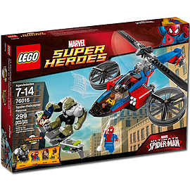 LEGO Super Heroes Spiderman Helicopter Rescue 76016 Blocks and Bricks