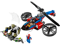 LEGO Super Heroes Spiderman Helicopter Rescue 76016 screen shot 1