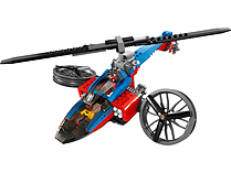 LEGO Super Heroes Spiderman Helicopter Rescue 76016 screen shot 2
