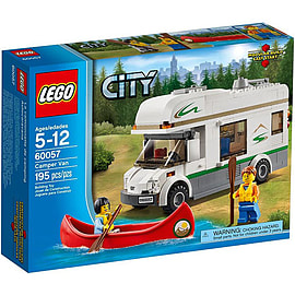 LEGO City Camper Van 60057 Blocks and Bricks