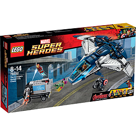 LEGO Super Heroes Avengers The Avengers Quinjet City Chase 76032 Blocks and Bricks