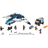 LEGO Super Heroes Avengers The Avengers Quinjet City Chase 76032 screen shot 1