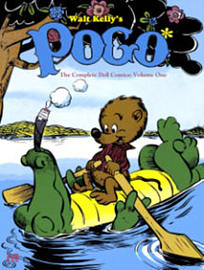 Walt Kelly's Pogo: The Complete Dell Comics Volume 1 (Hardcover) Books