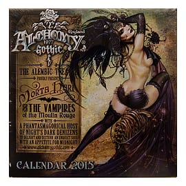 Alchemy Gothic Artwork Vampires Of Moulin Rouge 2015 Calendar 30 x 30cm Gifts Books
