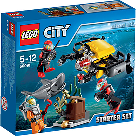 LEGO City Deep Sea Starter Set 60091 Blocks and Bricks