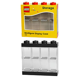 Lego Minifigures Small Display Case Black Mini Figure Blocks and Bricks
