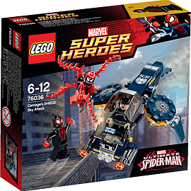LEGO Super Heroes Carnage's SHIELD Sky Attack 76036 Blocks and Bricks