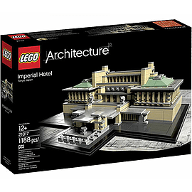 LEGO Architecture Imperial Hotel 21017 Blocks and Bricks