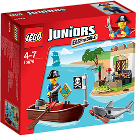 LEGO Juniors Pirate Treasure Hunt 10679 Blocks and Bricks