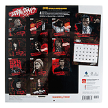 Official Quentin Tarantino 2015 18 Month Calendar 30cm x 30cm - Cult Movie Merch screen shot 1