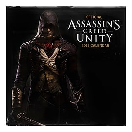 Official Ubisoft 30 x 30cm Assassins Creed Unity 2015 Calendar Gaming Gamer Gift Books