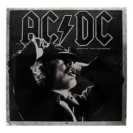 Official AC/DC 30 x 30cm Rock Band Music 2015 Annual Calendar Stationary Gift Books