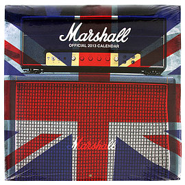 Marshall Calendars - Amps 2013 Music Merchandise Date Keeper - Band Annual Books