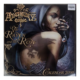 Alchemy Gothic - The Raven & The Rose 2016 Calendar - Xmas/Christmas Gift Books