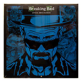Official 30 x 30cm Breaking Bad Heisenberg Television TV Show 2015 Calendar Gift Books