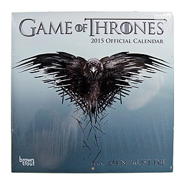 New Official Game Of Thrones GOT Fantasy Television TV Show 2015 Calendar Gifts Books