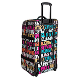 New Multi Coloured Roxy Typo Long Haul Travel Luggage Case Suitcase Accessories screen shot 1