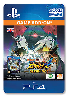 Naruto Shippuden: Ultimate Ninja Storm 4 Season Pass PlayStation 4 Cover Art