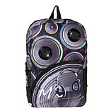 Grey Mojo Speaker Audio Music Backpack Rucksack School Bag Travel Accessories screen shot 1