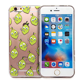 Frostycow 'Pear' Retro Goggle Eye Cartoon Case Cover Protector For Apple iPhone 6/6S Mobile phones