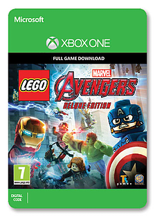 LEGO Marvel's Avengers: Deluxe Edition Xbox One Cover Art
