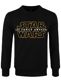 Star Wars The Force Awakens Black Men's Sweater: Extra Large (Mens 42- 44) Clothing