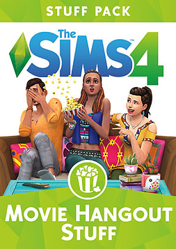 The Sims 4 Movie Hangout Stuff Pack PC Downloads Cover Art