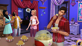 The Sims 4 Movie Hangout Stuff Pack screen shot 1