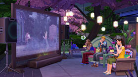 The Sims 4 Movie Hangout Stuff Pack screen shot 2