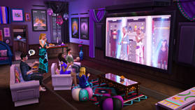 The Sims 4 Movie Hangout Stuff Pack screen shot 3