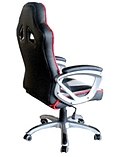 EarthCroc Black White Red Office Racing Gaming Chair Y-2860 screen shot 2