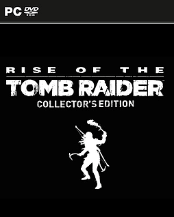Rise Of The Tomb Raider Collector's Edition PC Games Cover Art
