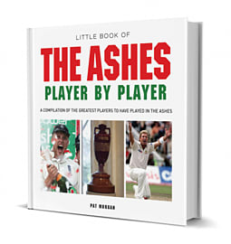 Little Book Ashes Player By Player Books