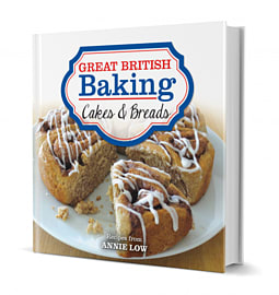 Great British Baking Bread & Cakes Books